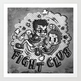 Fighters Art Print