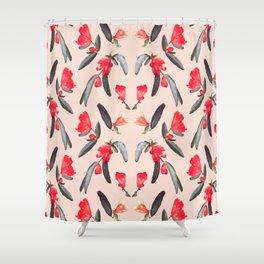 Pom Blossom in Summer Shower Curtain
