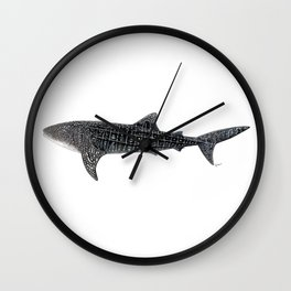 Whale shark Wall Clock