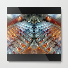 Narra Abstract Metal Print