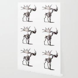 Irish Elk Skeleton Wallpaper