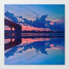 Casco Bay Bridge and the Portland, Maine Skyline Canvas Print