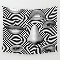 potato Wall Tapestries featuring Silver Abuse by Tyler Spangler
