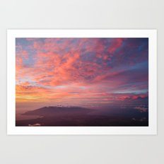 Haleakala Summit Sunset Art Print