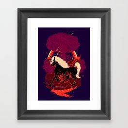 The Doomicorn Framed Art Print
