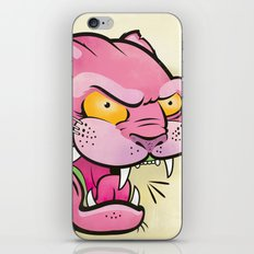 Pink Panther Tattoo Flash iPhone & iPod Skin