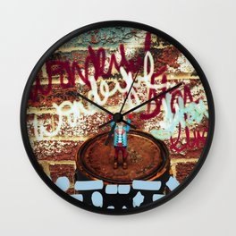 Headless Revolutionary No. 6 Wall Clock