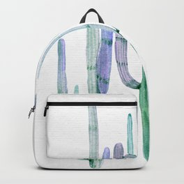 Cactus Trio Sage by Nature Magick Backpack