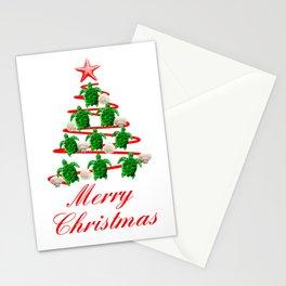 Coastal Merry Christmas Stationery Cards