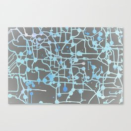 Inverted Circuit Breaker Canvas Print