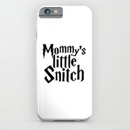 Magic cute Mommys Little Snitch iPhone Case