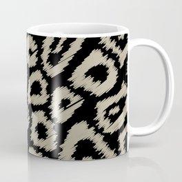 Black sketch leopard pattern Coffee Mug