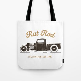 Rat Rod T-shirt Vintage Tote Bag