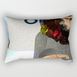 Fly: O is for Care less Rectangular Pillow