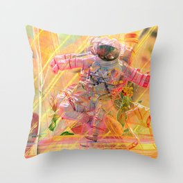 Crystal Passenger Throw Pillow
