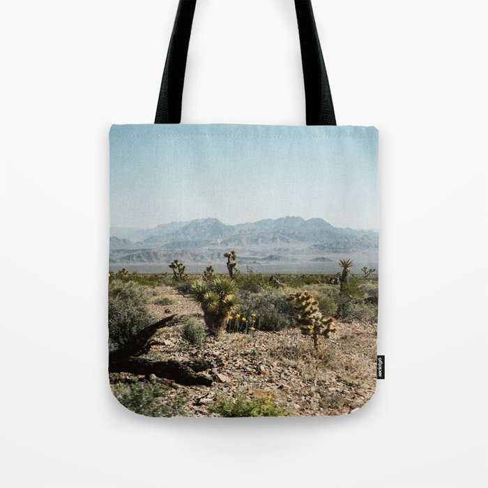 Nevada Desert Scene Tote Bag