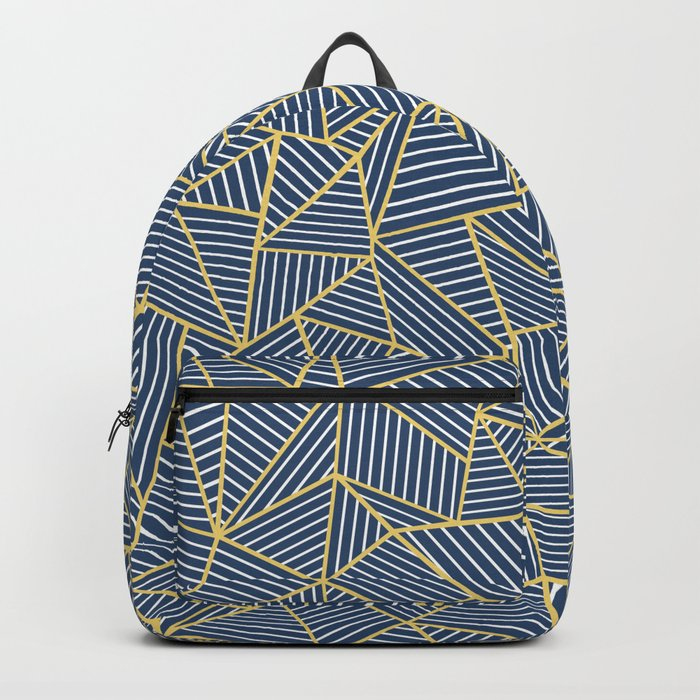 Ab Out Double R Navy Backpack