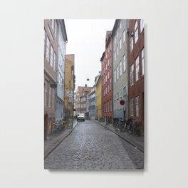 Copenhagen Street 3 Metal Print