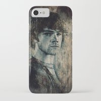 sam winchester iPhone & iPod Cases featuring Sam Winchester by Sirenphotos