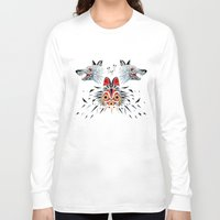 princess mononoke Long Sleeve T-shirts featuring mononoke princess by Manoou