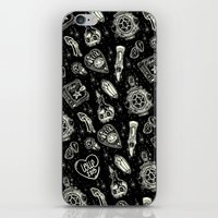 loll3 iPhone & iPod Skins featuring Magical Mystical  by lOll3