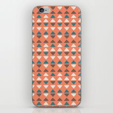 Triangles + Dots iPhone Skin