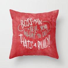 Tim Fite Throw Pillow