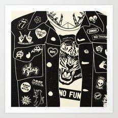 No Fun Art Print