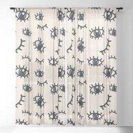 Wink Wink Sheer Curtain