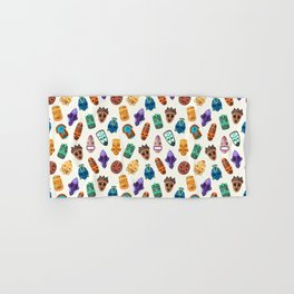 Colorful African Vibes Masks And Icons Mom Gift Hand & Bath Towel