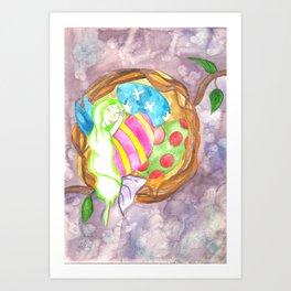 Easter Nest Art Print