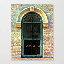 Law Office Canvas Print