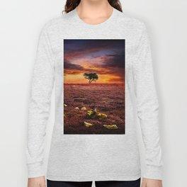 Egton Moor Sunset Long Sleeve T-shirt
