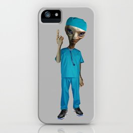 Dr. Alien iPhone Case