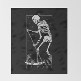 La Mort Throw Blanket
