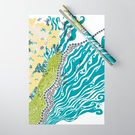 Beehive Island Wrapping Paper