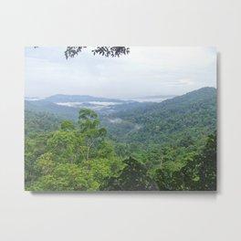 Lao Jungle Metal Print