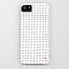 Hearts Slim Case iPhone (5, 5s)