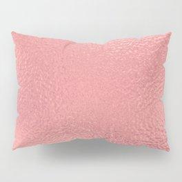 Simply Metallic in Warm Rose Gold Pillow Sham