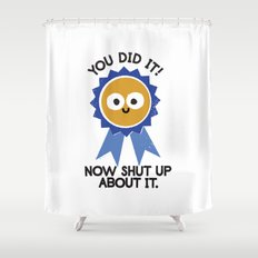 Boast Likely to Succeed Shower Curtain