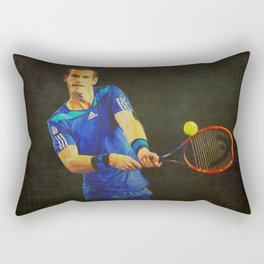 Murray Tennis Rectangular Pillow
