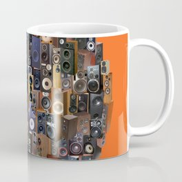 ORANGE WOOFERS AND TWEETERS! Coffee Mug