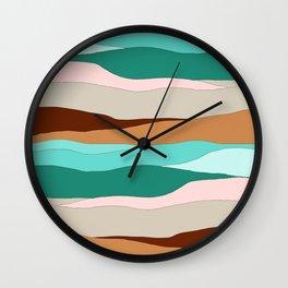 Supai_Abstract I Wall Clock
