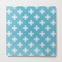 Simple tribal pattern 2 Metal Print