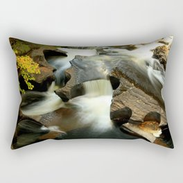 Fall from the Bridge Rectangular Pillow