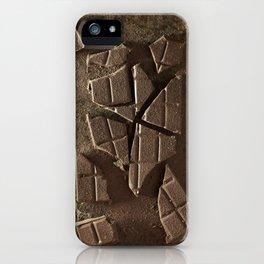 Choco break iPhone Case