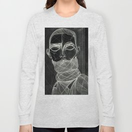 Alisa Ahmann by Txema Yeste (B) - Artist: Leon 47 ( Leon XLVII ) Long Sleeve T-shirt