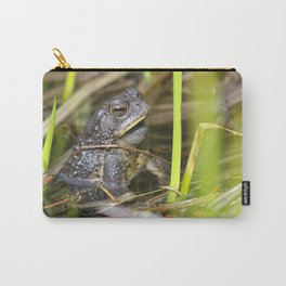 Toad in the pond Carry-All Pouch