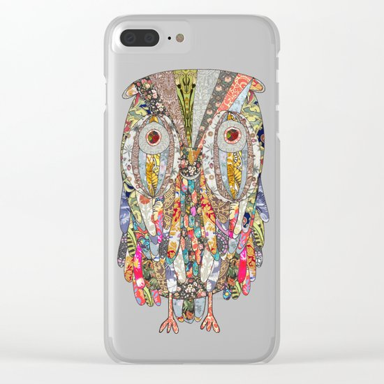 I CAN SEE IN THE DARK Clear iPhone Case
