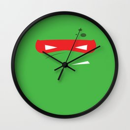RAPH MASK Wall Clock